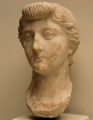 CADIZ: Liva, the first wife of Nero. In the Museum of Fine Art and Archaeology, Cadiz.