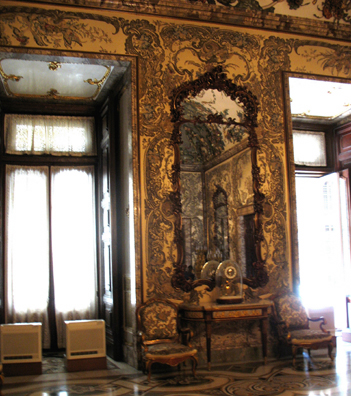 MADRID: Almost every room contains an elaborate rococo clock or two.