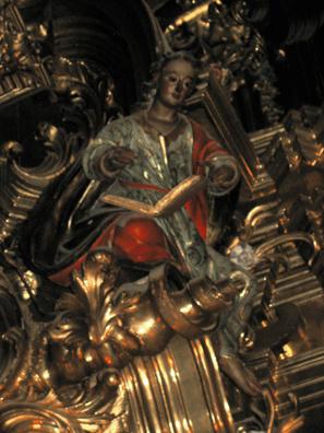 ARCOS DE LA FRONTERA: . Detail from the Chapel of the Rosary (1784), Santa Mar'a de la Asunci—n, Arcos de la Frontera.