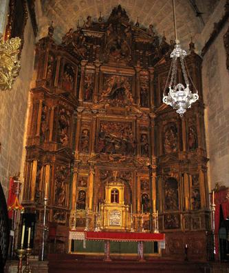 ARCOS DE LA FRONTERA: The altar