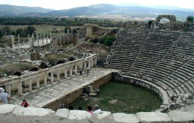 AFRODISIAS: There's also a fine theater.