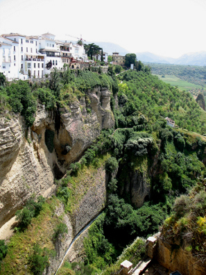 RONDA: Perched picturesquely on steep crags.