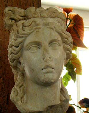 AFRODISIAS MUSEUM: This is displayed in the same area.