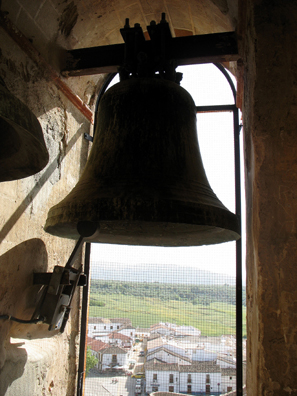 RONDA: The view from the church belfry.