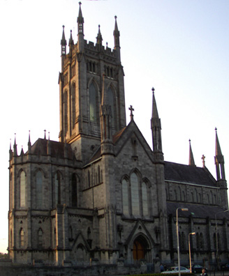 KILKENNY: Like most such towns, Kilkenny is crammed with churches. It's difficult for an amateur to tell the really old churches from the newer ones. The Catholic St Mary's Cathedral was built 1843-57, designed by William Deane Butler.