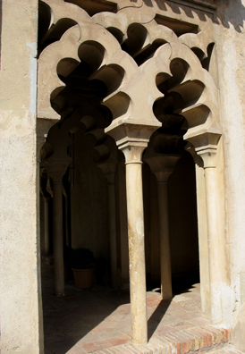 MALAGE: Exterior arches