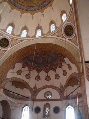 KONYA: Beautifully decorated domes are a trademark of Sinan's work.
