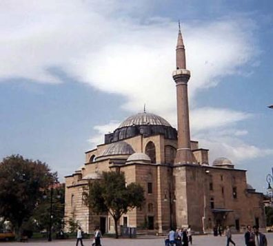 KONYA: We were able to pay only a flying visit to the Serafettin Mosque (rebuilt in the 17th century), not far from the Mevlana Museum.