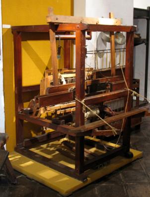 MALAGE: Loom, In Museo de artes y costumbres populares, M‡laga.