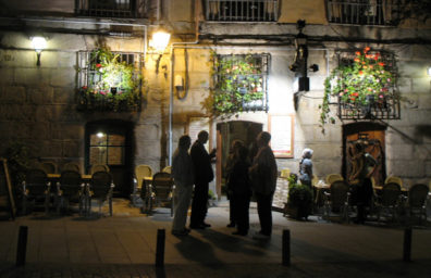MADRID: That night we had a personal guided tour of some of Madrid's top tapas bars near the Plaza Mayor, stopping at each one to sample its specialties. The streets stay lively late into the night.