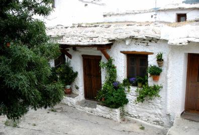 LAS ALPUJARRAS: A typical local house.