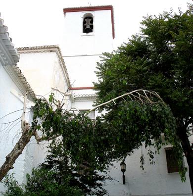 LAS ALPUJARRAS: The church in Capileira.