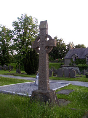 KILKENNY: One of many classic Celtic crosses in the graveyard surrounding St. Canice's.