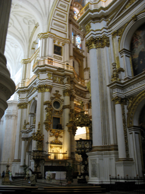 GRANADA: We also went through the even more interesting Capilla Real next door, but photography is banned there.