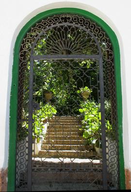 GRANADA: Gateway to a carmina (mansion).