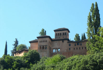ALHAMBRA: View of the Alhambra.