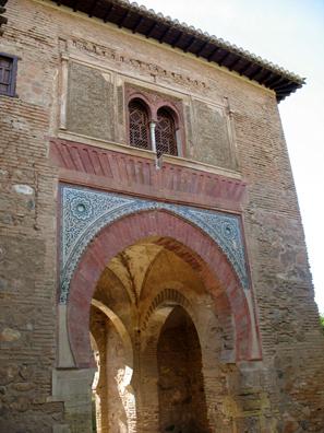 ALHAMBRA: The Puerto del Vino (wine gate).