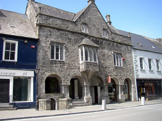 KILKENNY: The Tholsel, or old City Hall, built 1761, still in use today.