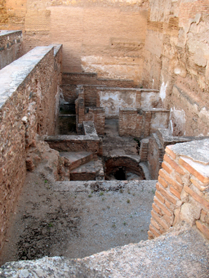 ALHAMBRA: Roman baths found beneath the Alcazaba.
