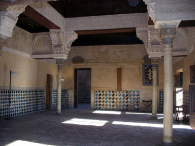 ALHAMBRA: Looking from the Oratory toward the entrance.