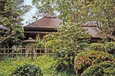 """HIROSHIMA: A small building in the traditional style called the """"Seikishoan"""". May 19, 1998"""