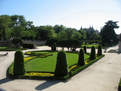MADRID: Most of the buildings in the park were closed, and the formal gardens were not comfortable in the baking heat.