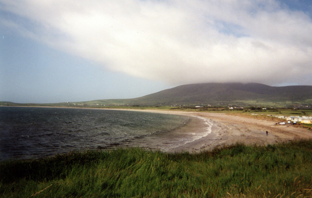 DINGLE BEACH: The Dingle Peninsula is famous for its scenic shoreline.