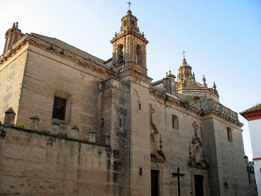 CARMONA: The Church of Santa Maria.