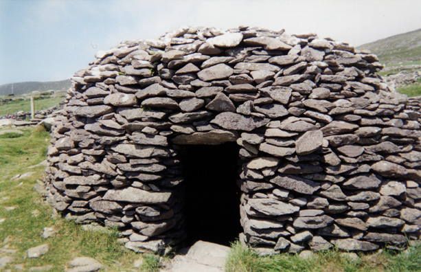 "DINGLE PENINSULA: These ""beehive cottages"" are much older, dating back perhaps 3,000 years."