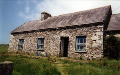 DINGLE PENINSULA: This mid-19th century stone cottage has been converted into a simple but moving memorial to the great Irish potato famine 1845-1850.