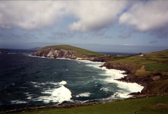 DINGLE PENINSULA: The spectacular scenery of the area around Slea Head has been used in films, notably Ryan's Daughter (1970) and Far and Away (1992).