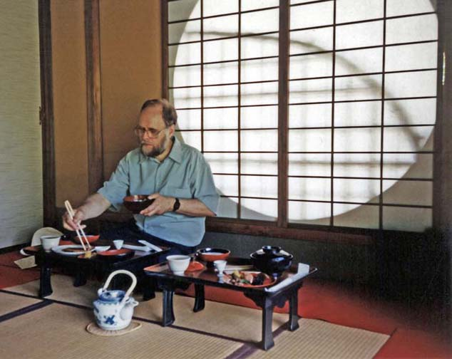 NARA: This restaurant is in classic Japanese style, with sliding panels and tatami mats on the floor. May 21, 1998