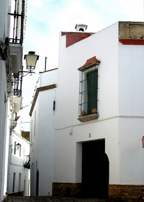 CARMONA: A final view of a typical street in Carmona.