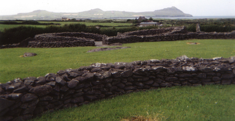 DINGLE PENINSULA: Considerably more difficult to find (but free to visitors) is the Medieval Riasc Monastic Centre, where a number of stone rings mark out the former settlement of a Christian community which adopted the same construction techniques used in this area since prehistoric times.