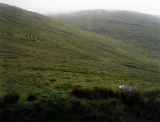 DINGLE PENINSULA: Even on a misty day, the hills were spectacular.