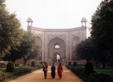 Gateway to the beautiful tomb of Humayan, the second Mughal emperor and father of Akbar