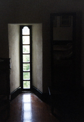 YEATS TOWER: We encountered a touring American college literature class there.