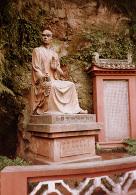 LESHAN: The monk who planned and accumulated the funds for the building of the Big Buddha, refusing to let a noble lord grab the money for his own purposes.