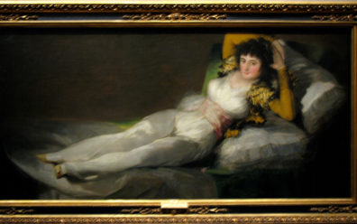 MADRID: The most popular exhibit in the Prado museum is the side-by-side display of Goya's pair of paintings: the naked and clothed majas.