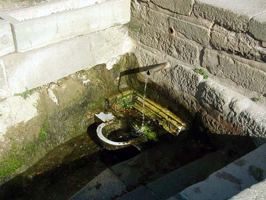 ASCLEPION: The heart of the site was its sacred spring. Visitors would drink from its waters as the first step in their diagnosis.