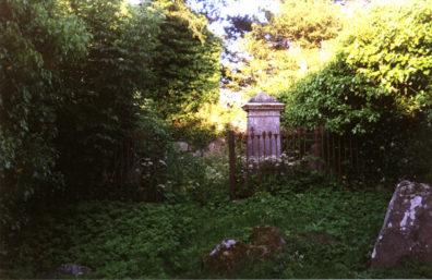 Brú na Bóinne: The overgrown cemetery had quintessentially romantic air about it.