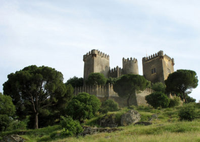 ALMODVAR DEL RIO: We took the wrong road out of Córdoba and serendipitously came across the impossibly romantic Castillo Almodóvar del Rio.