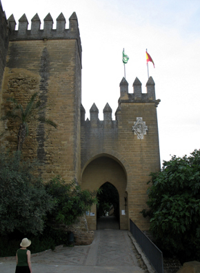 ALMODOVAR DEL RIO: As we entered, the music of Alfonso X, El Sabio, was playing.
