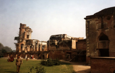 The ruins of the Residency, where the British were besieged by rebellious Indian troops in what the former called the Sepoy Mutiny and Indians call the First War of Independence (there was no second). Built 1780-1800.