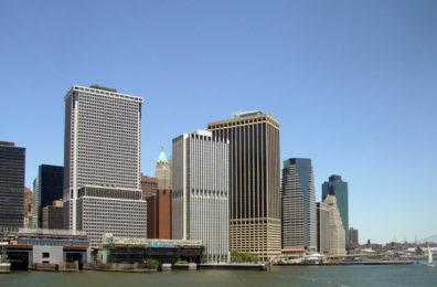 NEW YORK: The Wall Street area.