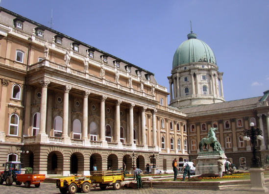 BUDAPEST: This vast complex now houses several museums, including the National Gallery.