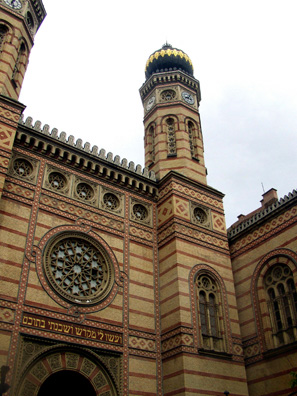 BUDAPEST: The largest operating synagogue in Europe, testimony to the once-flourishing Jewish community in Hungary, largely destroyed during World War II.