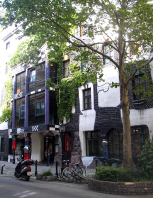 VIENNA: Designed by the eccentric 20th-century artist Friedensreich Hundertwasser