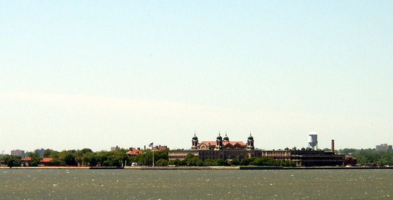 NEW YORK: Ellis Island, now a museum of American immigration.