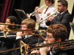 WSU student brass instrumentalists